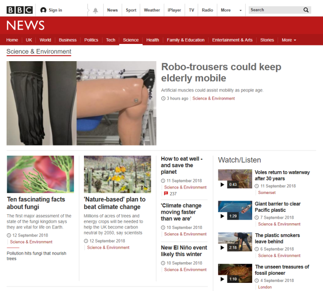 BBC News Science