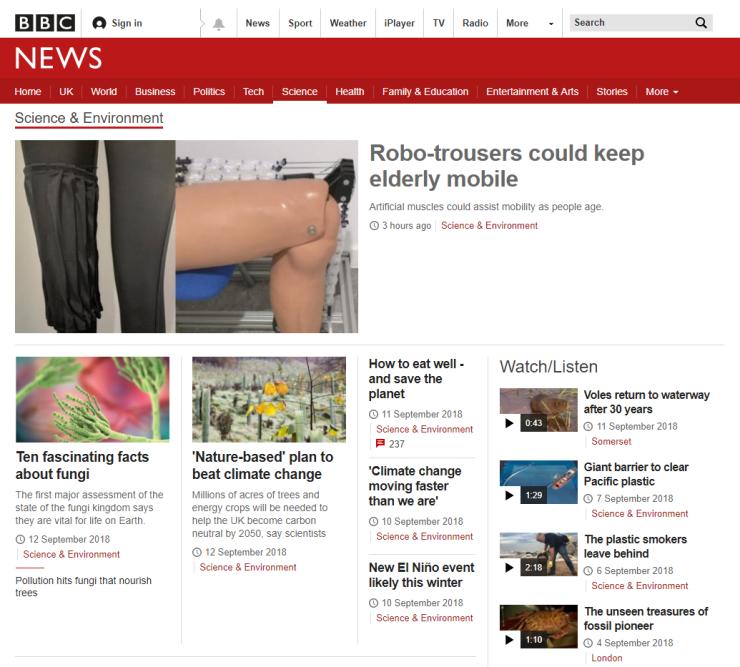 BBC News Science